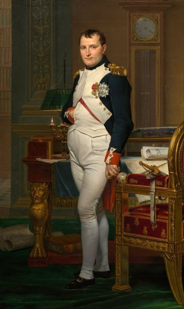 Jacques-Louis David - The Emperor Napoleon in His Study at the Tuileries.jpg